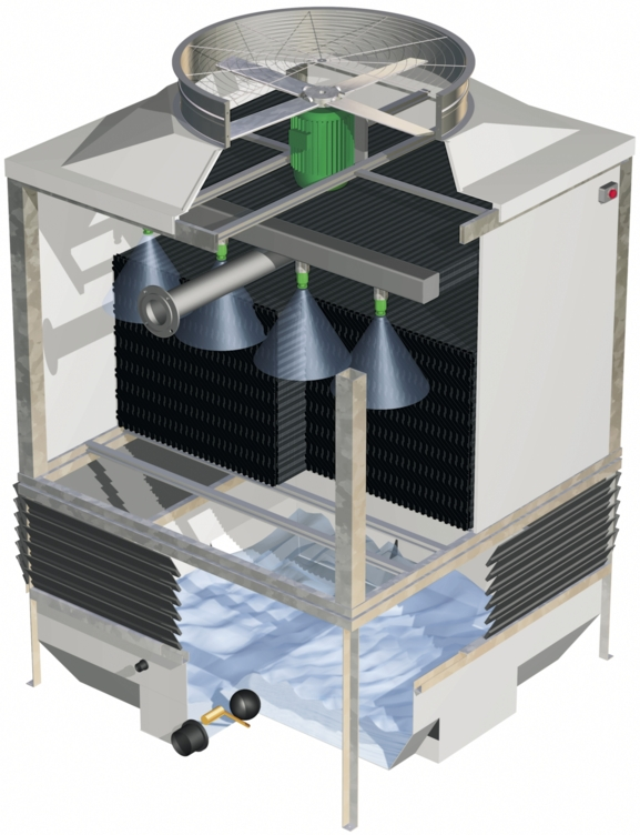 PME-E Open Circuit Cooling Tower