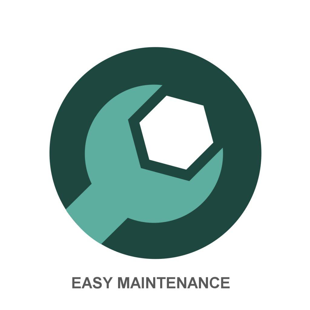 Easy maintenance Icon