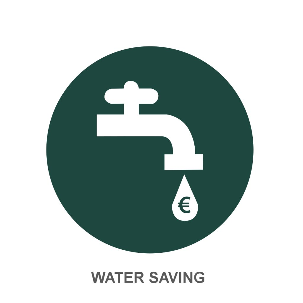 Water saving Icon