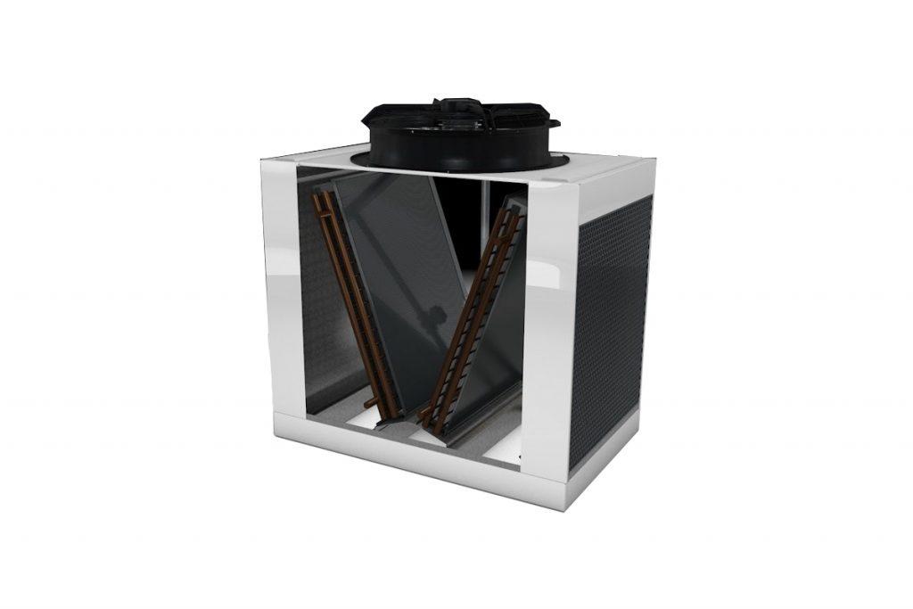 PAD-V Adiabatic Coolers Condensers Rendering