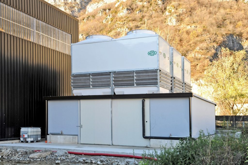 Cooling Station for Water Treatment