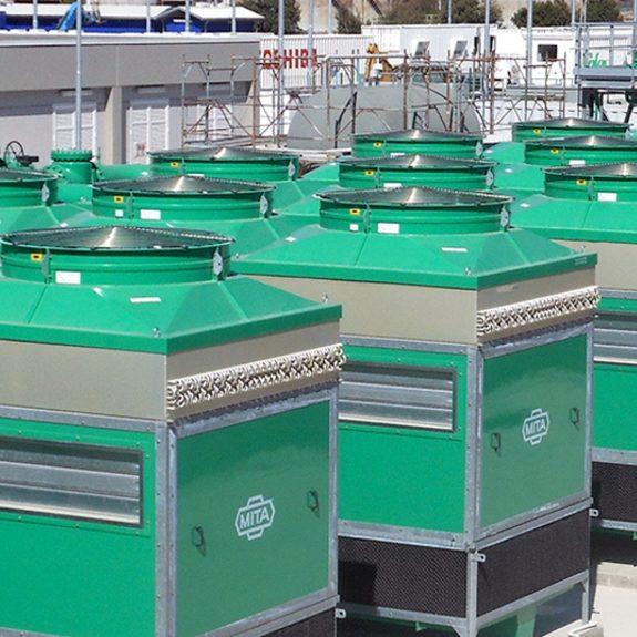 Adiabatic Coolers for Ansaldo Energia