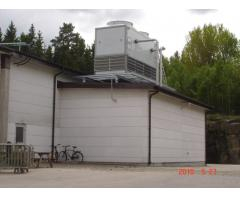 Cooling Towers for a Pet Food Processing Industry in Sweden