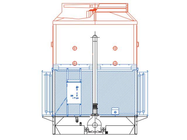 HBR Hybrid Cooler