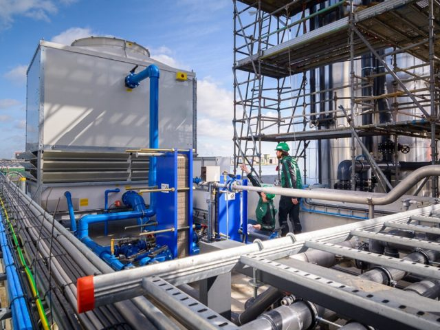 PME-E Cooling Tower for a Large Plant in Netherlands