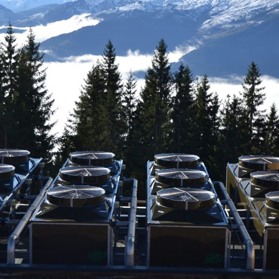 PME-E Open Circuit Cooling Towers for Hopfgarten Snowmaking Plant