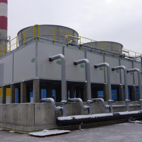 PMM Open Circuit Cooling Tower for a Cogeneration Plant in Poland