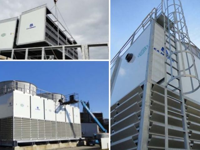 PMM Open Circuit Cooling Towers for SSAB Global Steel Processor in Sweden_Case Study