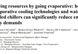 Best Practice Saving Resources by Going Evaporative