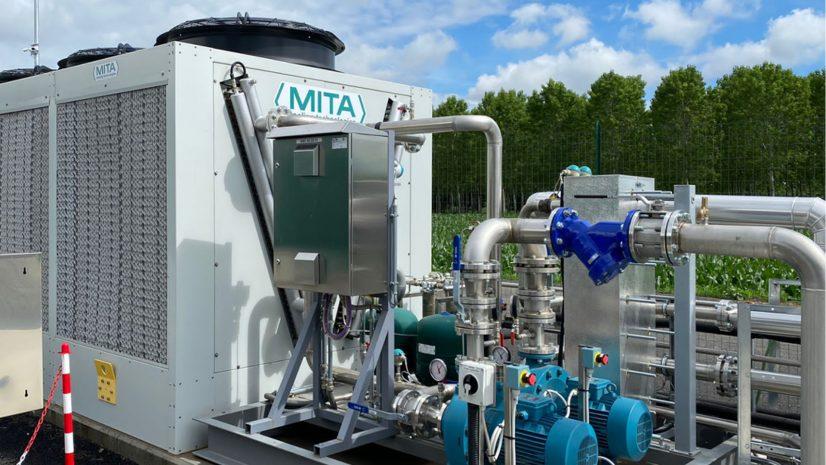 Adiabatic Dry Cooler in BIM Files