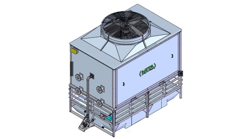MCE Evaporative Condenser on BIM Objects